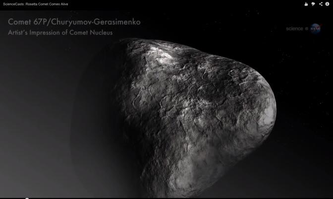 cometa 67P:Churyumov-Gerasimenko