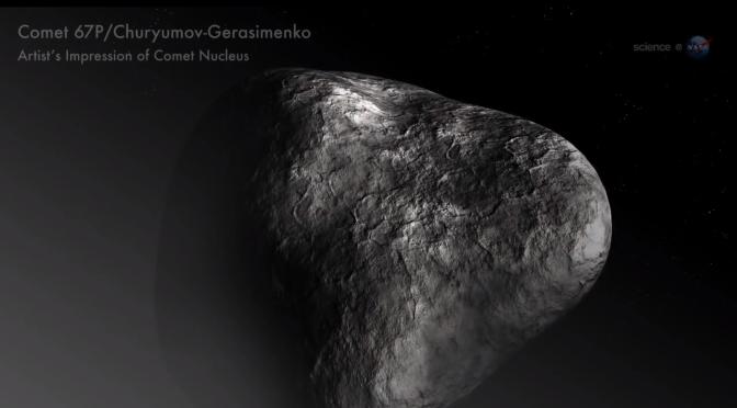 NOTICIAS DE LA NASA: cómo cobra vida un cometa