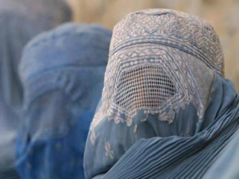 Carcel de mujeres la burka