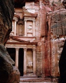 Petra, Jordan - A town:temple completely carved out of a cliff FLICKR