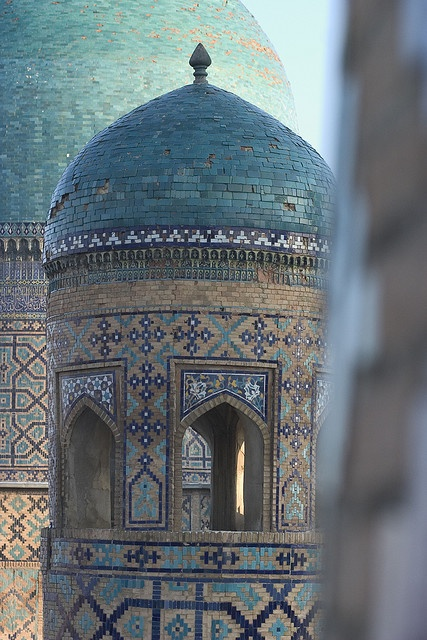 The Registan- Samarkand, Uzbekistan. By Herwig Photo