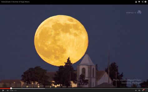 Hermos super luna