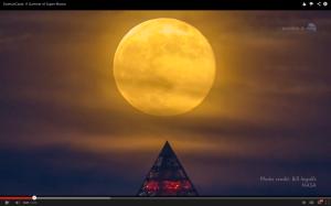 Preciosa super luna llena