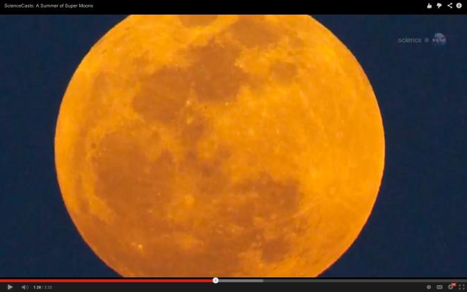 AVISO DE LA NASA: Tres súper lunas consecutivas