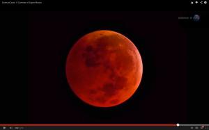 Super luna de sangre