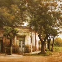 jorge frasca, Argentino, maestro del paisaje, pintor del aire y de la luz.