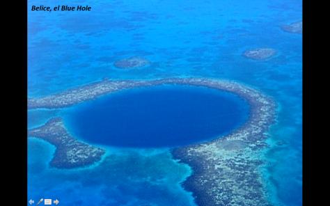Gran hoyo Azul de Belice Michel