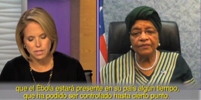 La presidenta de Liberia habla en exclusiva con Yahoo sobre la epidemia de ébola en su país