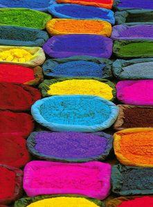 Pigments, Nepal por ruta de la seda #color #budgettravel #travel www.budgettravel