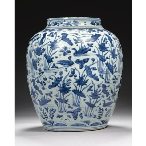 Porcelana China Dinastía Ming 1610