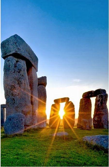 Stonehenge Wiltshire England observatorio astronómico