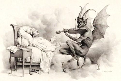 Sobre el trino del diablo y la mitología en las carreras de Tartini y Paganini