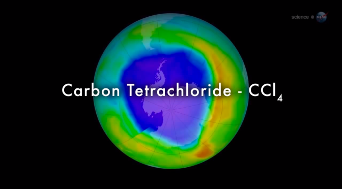 Misterio en la capa de ozono NOTICIAS DE LA NASA