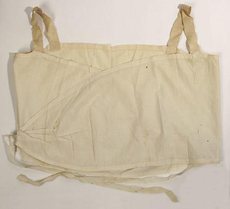 Brassiere 1910 20 lino Met Museum