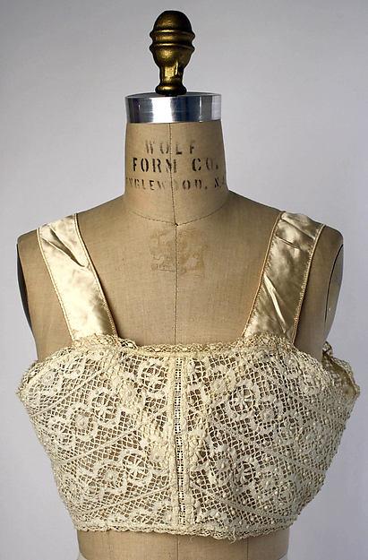 Brassiere 1917 Met Museum