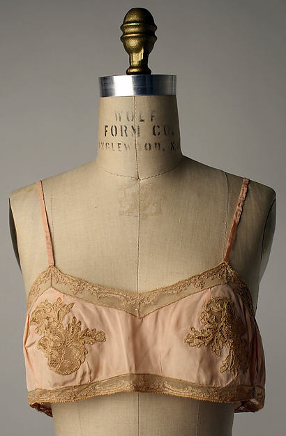 Brassiere 1920s frances Met Museum