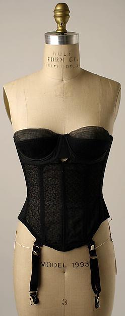 Brassiere 1950s Met Museum