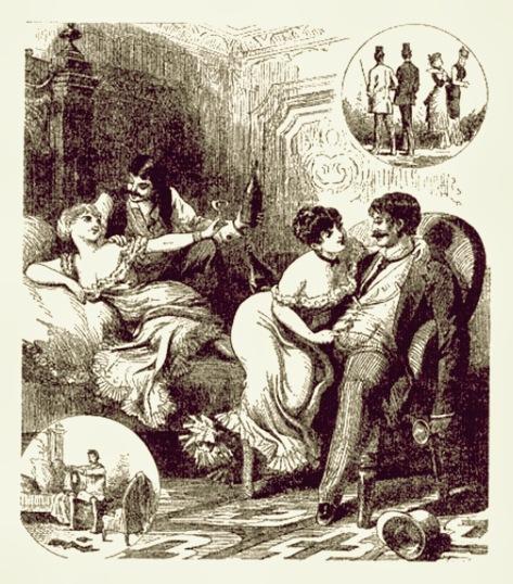 mujeres en burdel siglo xix