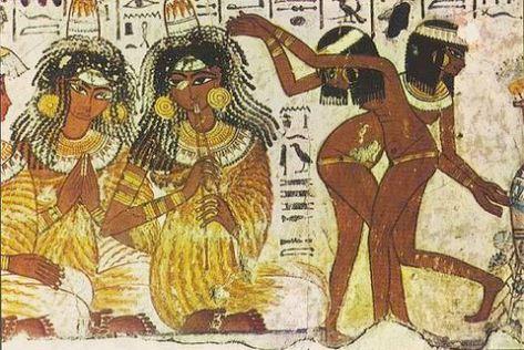 esclavas egipcias con taparrabos