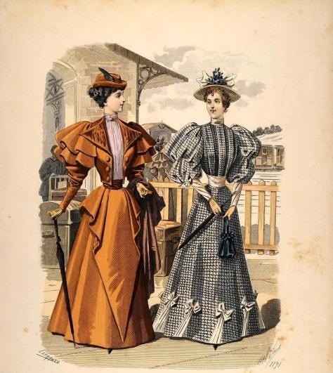 Moda femenina victoriana
