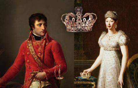 Napoleón-y-su-segunda-esposa-María-Luisa-de-Habsburgo-Lorena