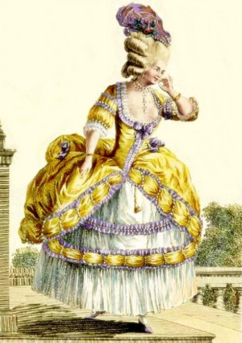 Rose Bertin moda antes revolucion francesa