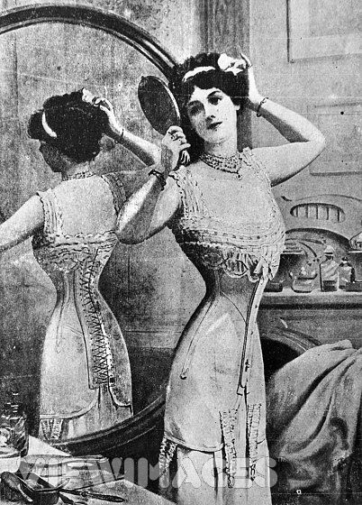 tailored-edwardian-corset Siglo XX