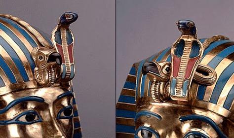 uraeus tutankamon