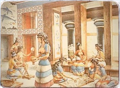 Zoster mujeres de Creta