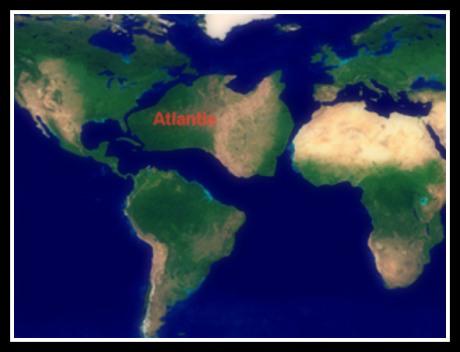 Atlantida mapa