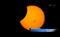 Eclipse parcial de sol 23 10 14