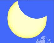 Eclipse parcial de sol maximo 23 10 14 desde California