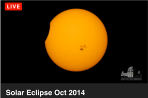Eclipse parcial Sol final 23 10 14