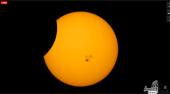 eclipse parcial Sol imagen 1