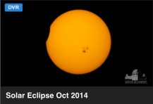 Eclipse Sol oct 2014 terminando