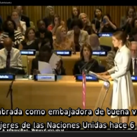 Emma Watson discurso en la ONU en defensa de las mujeres por la igualdad de género