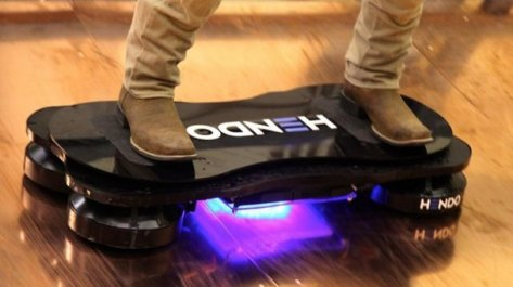 Ahora si diseñan patineta voladora