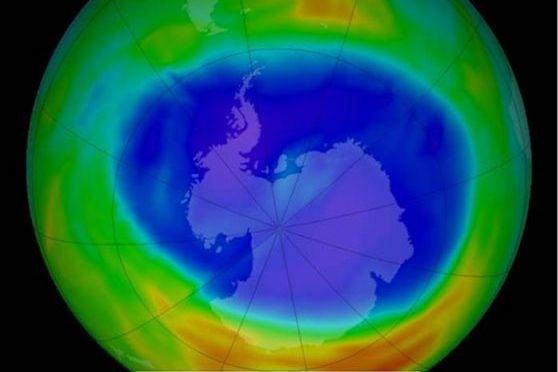EL AGUJERO DE OZONO, 2014, NASA