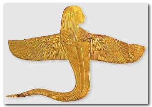Diosa serpiente egipcia