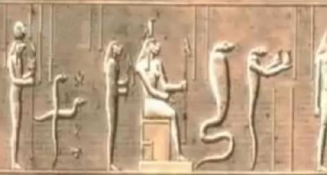dioses serpiente-1 en Egipto