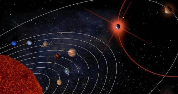 Orbita eliptica de Nibiru