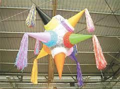 piñata con 7 puntas