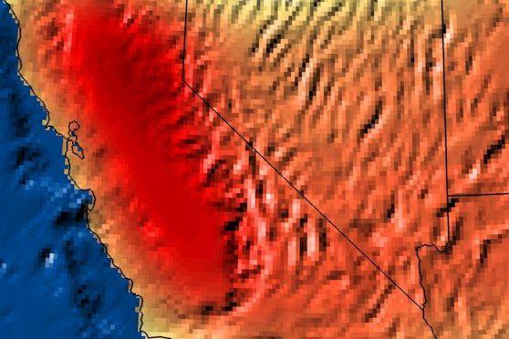 TREMENDA SEQUÍA EN CALIFORNIA