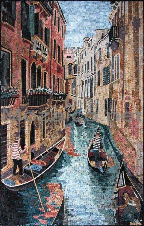 Canal de Venecia Mozaico Art