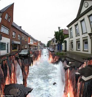 Arte callejero en 3D 4
