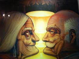 Para siempre. Pintura de Octavio Ocampo.
