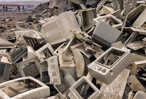 Accra Ghana La basura tecnologica termina en paises del tercer mundo