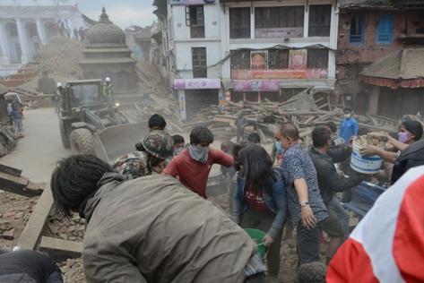 Sismo Nepal abril 25 2015