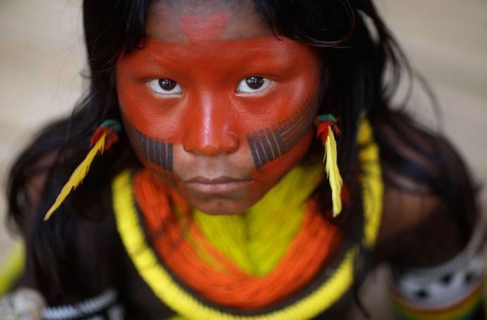 Mujer kayapo
