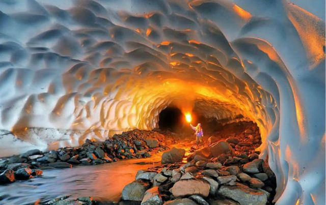 Cuevas de hielo de Rusia